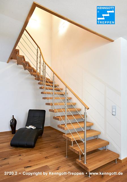 Freitragende Treppe Wf2